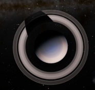 Saturn polar view