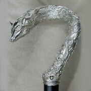 Silver-cane