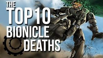 The Top 10 BIONICLE Deaths