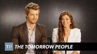 The Tomorrow People - In Too Deep Preview with Luke Mitchell and Peyton List