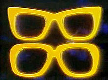 The Two Ronnies Glasses