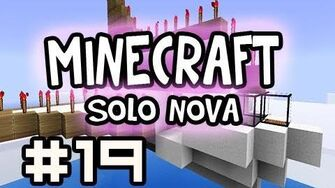 Minecraft Solo Air Canada Down Survival - Burned Out w Nova Ep