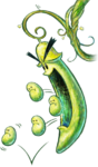 Big Beanie Artwork - Yoshi's New Island