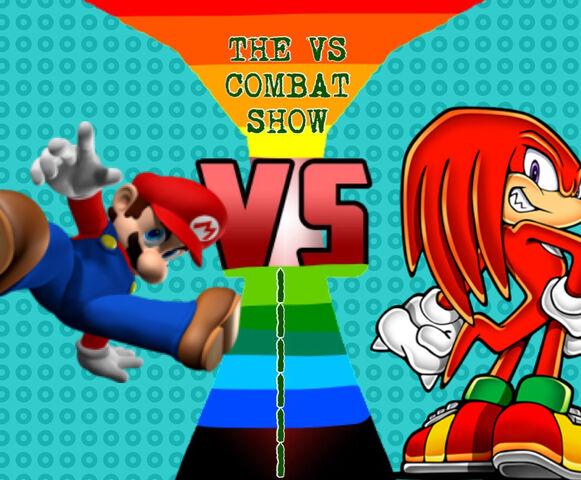 File:Mario vs knuckles.jpeg