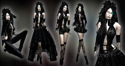 Black Angel Assassin Female