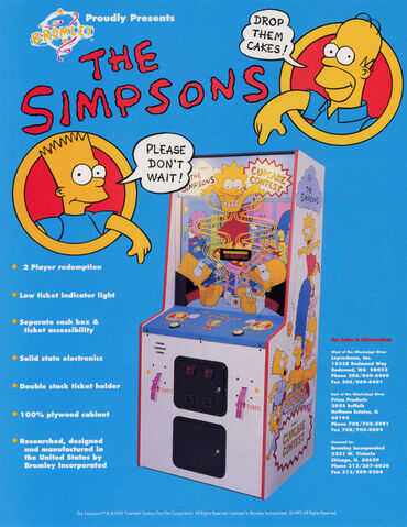 File:The Simpsons Cupcake Contest arcade game.jpg