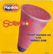 Cherry Screwball cone