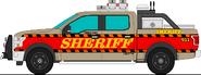 Sheriff Harcastle Official Patrol Truck