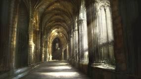 Church Cloisters by atomhawk