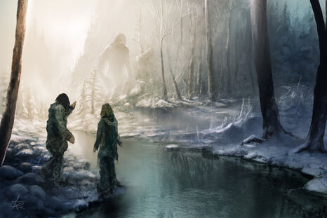 Encountering a Frost Giant