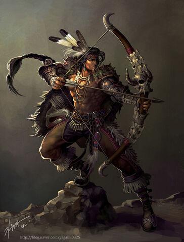 File:Native american archer by goddessmechanic-d5k8yxu.jpg