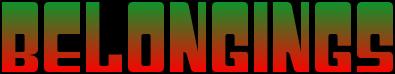 Lovino Stuff - Belongings