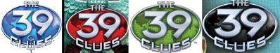 39 Clues logo-horz