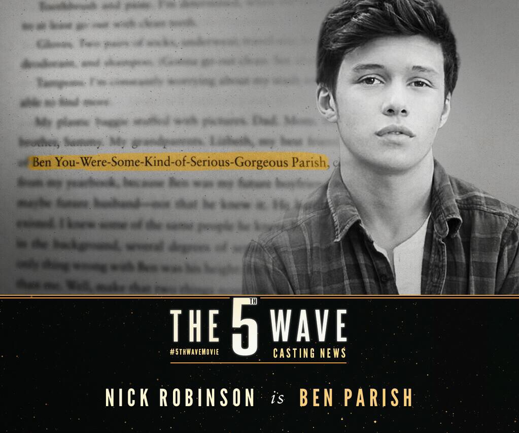 Image - Casting Ben.jpg | The 5th Wave Wiki | Fandom powered by Wikia