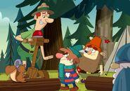 S2e10b sneezy's upset at the forest ranger