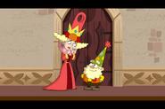 Queen Delightful and Happy