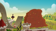 S1e19b The Leaf Pile Spins
