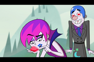 S1e03a Grim Returns to Normal and the Love Stone Affects Hildy 8