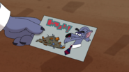 S1e18a wolf's business card