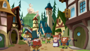 S1e24 villagers cheer
