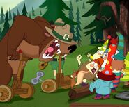S2e10b the forest ranger, the 7d, and an angry bear