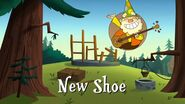 New Shoe title card