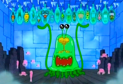 Evil Alien Jellyfish Overlord