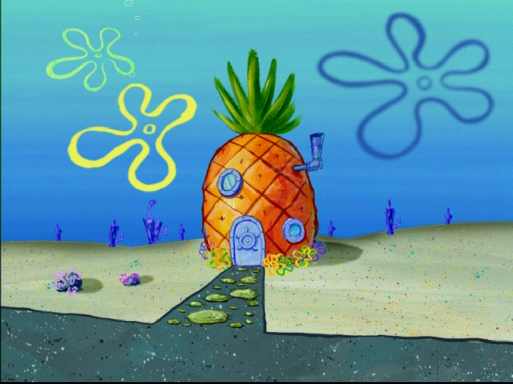 SpongeBob's Pineapple House | THE ADVENTURES OF GARY THE SNAIL Wiki | FANDOM powered by Wikia
