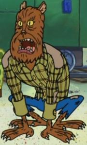 Frankie Billy as Werewolf