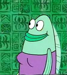 Abigail marge the adventures of gary the snail wiki for Spongebob fish characters