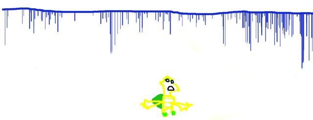 File:DeviantArt (Koopa avoiding the falling blue poisonous liquid).png