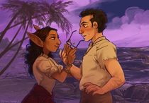 Barry and Lup by jeinu
