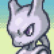 Mewtwo Pokemon Mystery Dungeon 2 Sprite Portrait
