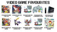 Video Game favorites