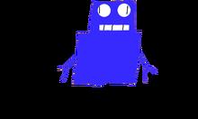 Miss Robot 2.0. transparent