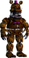 Golden Freddy on Steroids