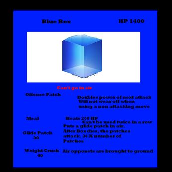 Blue Box card
