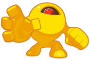 Yellow Devil transparent
