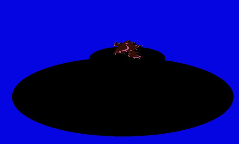 The UFO Ft. Blue Sky