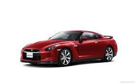 The Speeding Red Car