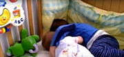 Ryan and kyle in the cot