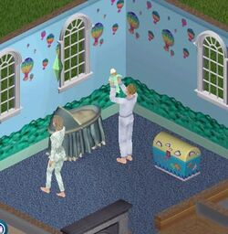 Sims 1 baby