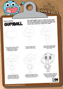 Drawing gumball