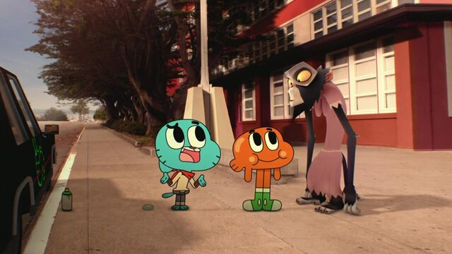 File:Gumball, Darwin, and Simian in The Apology.jpg
