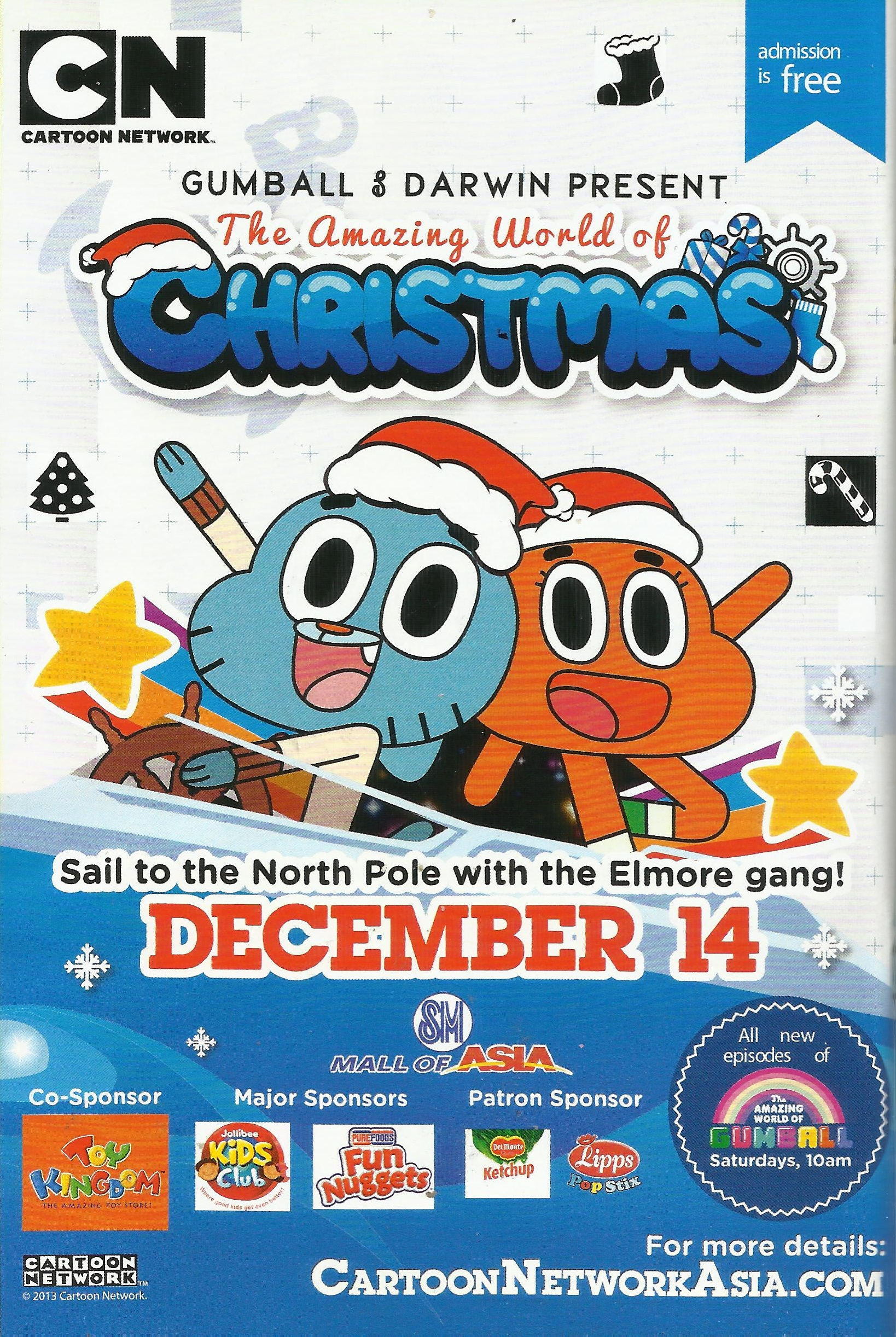 User blog:Randomced859/The Amazing World of Christmas (2nd Gumball ...