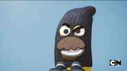Banana Bob in a Ski Mask