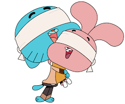 File:Gumball And Anais Hugging.png