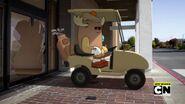 Golf cart in The Apprentice