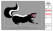 GB308GRIPES Character Skunk V003