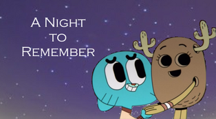 Gumball and Penny a Night to Remember